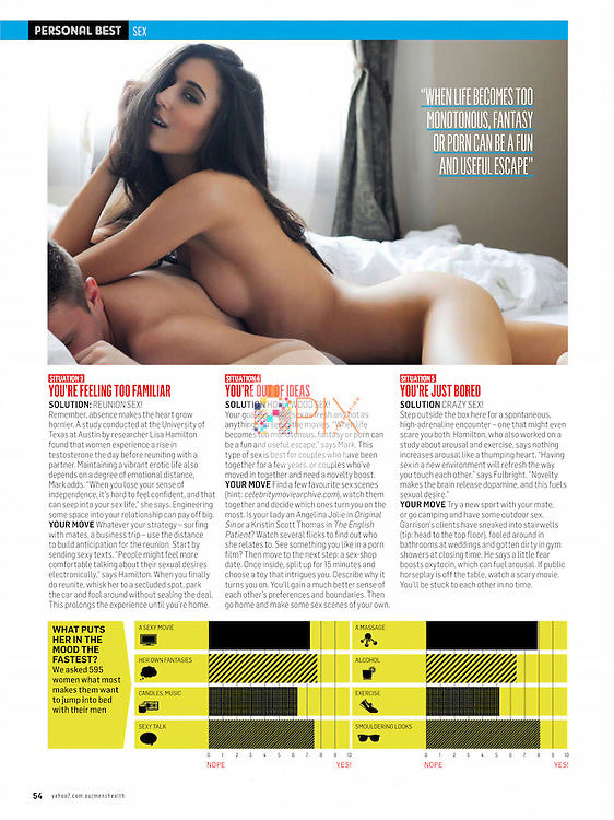 Read this article for tips on how to read her mind in the bedroom - thanks to expert advice from Men's Health magazine in Australia.  <br />