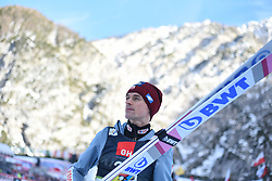 March 22, 2019 - Planica, Slovenia - Piotr Zyla of Poland is seen during the FIS Ski Jumping World Cup Flying Hill Individual competition in Planica. (Credit Image: © Milos Vujinovic/SOPA Images via ZUMA Wire)