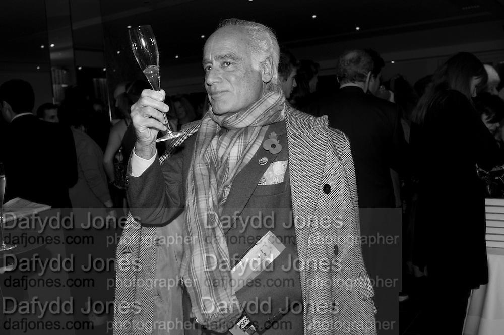 JOHN STEFANIDES, Launch of Nicky Haslam's book Redeeming Features. Aqua Nueva. 5th floor. 240 Regent St. London W1.  5 November 2009.  *** Local Caption *** -DO NOT ARCHIVE-© Copyright Photograph by Dafydd Jones. 248 Clapham Rd. London SW9 0PZ. Tel 0207 820 0771. www.dafjones.com.<br /> JOHN STEFANIDES, Launch of Nicky Haslam's book Redeeming Features. Aqua Nueva. 5th floor. 240 Regent St. London W1.  5 November 2009.