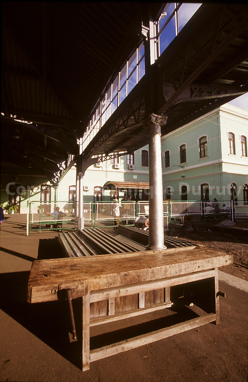 Train station designed by Gustave EIFFEL, Mozambique