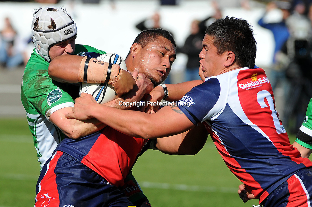 Tasman`s Sakaria Taulafo in action during their Air NZ Cup Rugby Union Match. Tasman v Manawatu, Trafalgar Park, Nelson, New Zealand. Saturday 5 September 2009. Photo: Chris Symes/PHOTOSPORT
