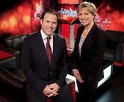 19.10.11. Free Pics Courtesy Kirsten Stevenson, STV Press Office<br /> Presenters Rona Dougall &amp; John Mackay