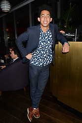 JORDAN STEPHENS at a party hosted by Christian Lacroix partnered with Supa Model Management to celebrate London Men's Collections January 2015, held at the Rumpus Room, the roof top bar at the top of the Mondrian London, 20 Upper Ground, London SE1 on 12th January 2015.