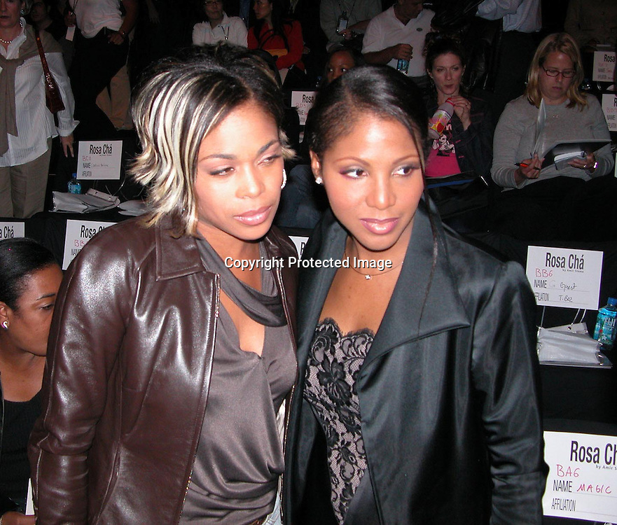 T-Boz of TLC &amp; Tony Braxton<br />