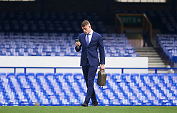 LIVERPOOL, ENGLAND - Saturday, March 12, 2016: Everton's Ross Barkley arrives at Goodison Park before the FA Cup Quarter-Final match against Chelsea. (Pic by David Rawcliffe/Propaganda)
