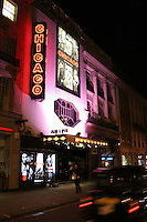 taxi passes adelphi theatre in london