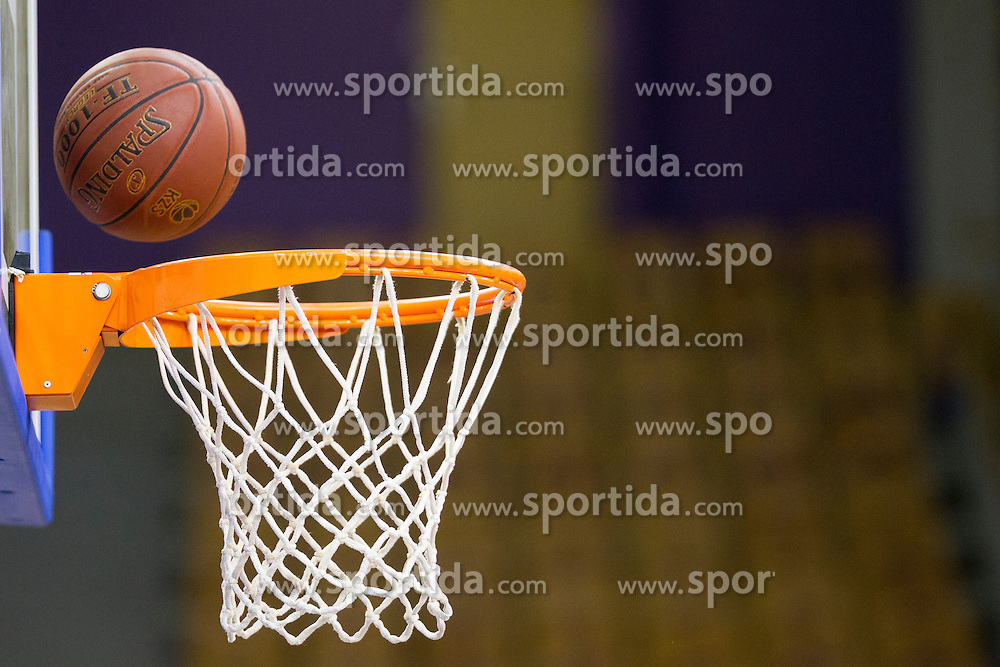 Ball during basketball match between KK Zlatorog Lasko vs KK Lastovka in Semifinal of Spar Slovenian Cup 2016, on February 19, 2016 in Hala Tivoli, Ljubljana, Slovenia. Photo by Urban Urbanc / Sportida