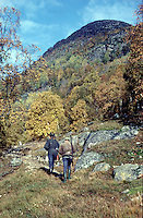 Two brothers on their way to hunt grouse 1969