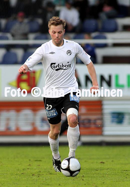 31.05.2010, Tehtaankentt?, Valkeakoski..Veikkausliiga 2010, FC Haka - Myllykosken Pallo-47..Jarno Mattila - Haka.©Juha Tamminen.