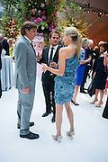 ANTOINE RUPERT; FRANCESCA CIARDI; CAROLINE RUPERT; , CARTIER CHELSEA FLOWER SHOW DINNER Dinner hosted by Cartier in celebration of the Chelsea Flower Show was held at Battersea Power Station. 22 May 2012