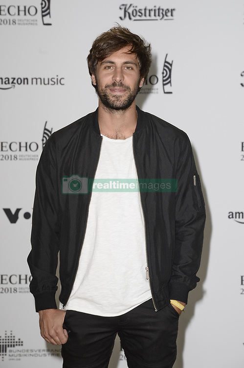 April 12, 2018 - Berlin, Germany - Max Giesinger.Echo Pop Verleihung, Berlin, Germany - 11 Apr 2018.Credit: MichaelTimm/face to face (Credit Image: © face to face via ZUMA Press)