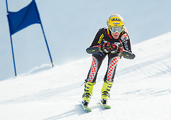 PRSENDIC Edita  of Croatia during Women's Super Combined Slovenian National Championship 2014, on April 1, 2014 in Krvavec, Slovenia. Photo by Vid Ponikvar / Sportida