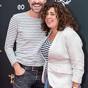 NL/Utrecht/20200701 - Premiere DE PIRATEN VAN HIERNAAST, Johan Nijenhuis met partner
