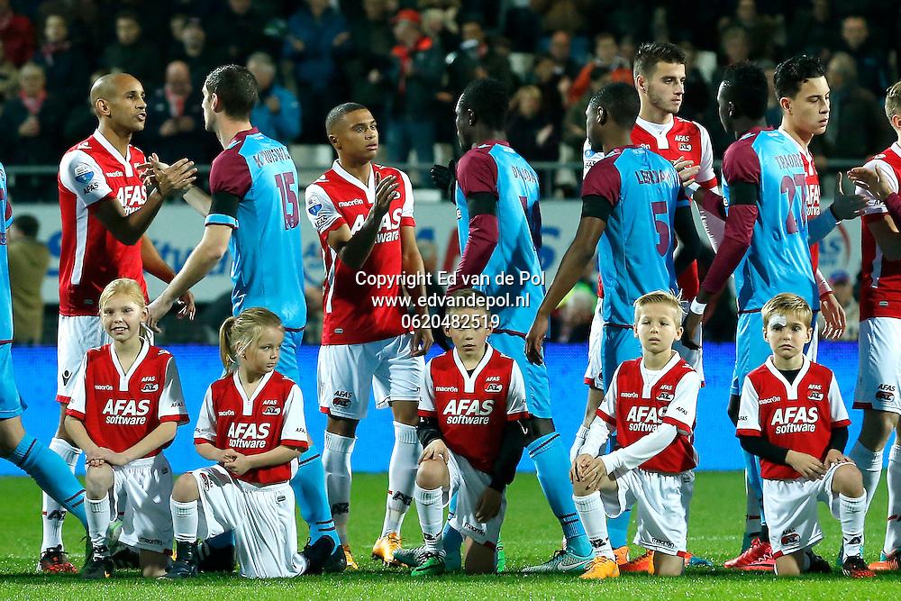 ALKMAAR - 22-11-2014, AZ - Vitesse,  AFAS Stadion, 1-0,