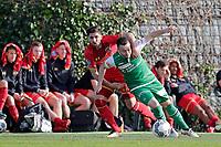 *Alireza Jahanbakhsh* of AZ Alkmaar, *Andreas Wittwer* of FC St Gallen,