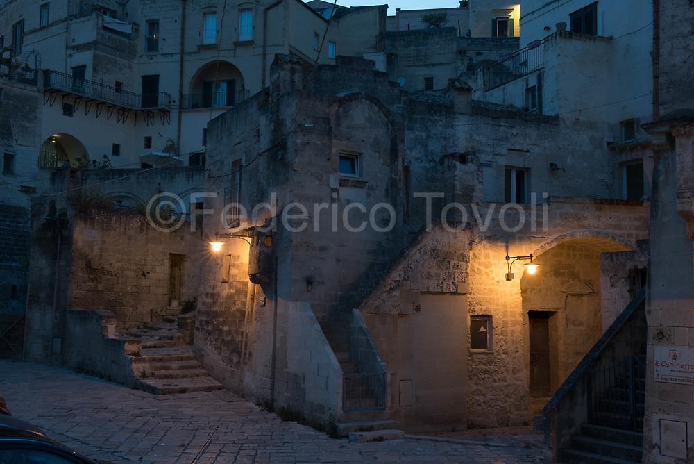Night on Sasso Barisano
