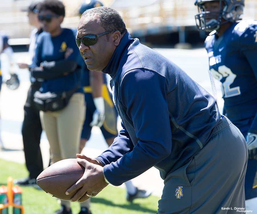 2017 A&T Football Blue & Gold Spring Game \ www.ncataggies.com - Photo by: Kevin L. Dorsey