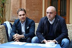 DA SX MATTEO FORNASINI E MAURO MALAGUTI<br /> CONFERENZA CENTRODESTRA ELEZIONI PROVINCIALI