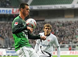 13.11.2010, Weserstadion, Bremen, GER, 1. FBL, Werder Bremen vs Eintracht Frankfurt, im Bild Sandro Wagner (Bremen #19)   EXPA Pictures © 2010, PhotoCredit: EXPA/ nph/  Frisch+++++ ATTENTION - OUT OF GER +++++
