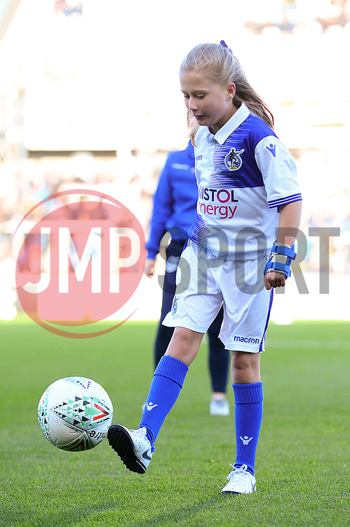 Mascot  - Mandatory by-line: Dougie Allward/JMP - 17/11/2018 - FOOTBALL - Memorial Stadium - Bristol, England - Bristol Rovers v Scunthorpe United - Sky Bet League One