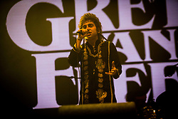 June 17, 2018 - Landgraaf, Limburg, Netherlands - Joshua Kiszka of Greta Van Fleet performing live at Pinkpop Festival 2018 in Landgraaf, Netherlands,on 17 June 2018. (Credit Image: © Roberto Finizio/NurPhoto via ZUMA Press)