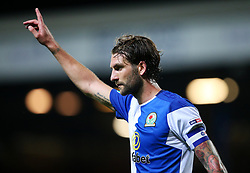 Charlie Mulgrew of Blackburn Rovers gestures - Mandatory by-line: Matt McNulty/JMP - 23/08/2017 - FOOTBALL - Ewood Park - Blackburn, England - Blackburn Rovers v Burnley - Carabao Cup - Second Round