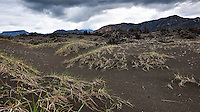 Highlands of Iceland, Fjallabak Area, Northwest of Lake Frostastaðavatn. Looking Souteast towards Suðurnámur, Norðurnámur and Frostastaðaháls. Hálendið að fjallabaki, norðvestur af Frostastaðavatni. Horft í átt að Suður- og Norðurnámum og Frostastaðahálsi.