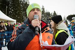 Bojan Makovec during Final Run of Men's Parallel Giant Slalom at FIS Snowboard World Cup Rogla 2016, on January 23, 2016 in Course Jasa, Rogla, Slovenia. Photo by Ziga Zupan / Sportida