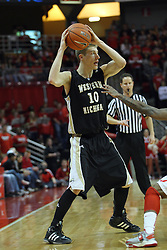 08 December 2012:  Brandon Pokley during an NCAA mens basketball game between the Western Michigan Broncos and the Illinois State Redbirds (Missouri Valley Conference) in Redbird Arena, Normal IL