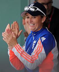 England's Charlotte Edwards - Photo mandatory by-line: Harry Trump/JMP - Mobile: 07966 386802 - 21/07/15 - SPORT - CRICKET - Women's Ashes - Royal London ODI - England Women v Australia Women - The County Ground, Taunton, England.