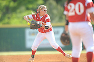 Lafayette High's Emily Robinson vs. West Lauderdale in MHSAA Class 4A playoff action in Oxford, Miss. on Friday, May 2, 2014.