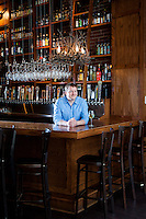 Restauranteur David Bailey, photographed at Bridge Tap House and Wine bar in downtown St. Louis.