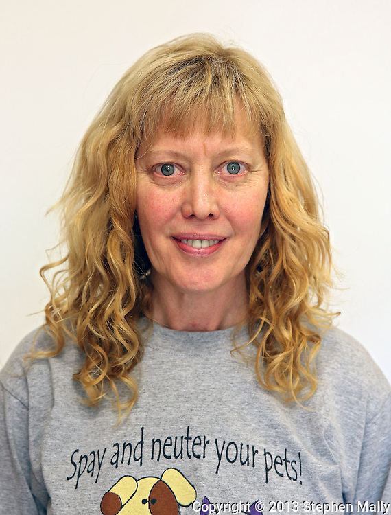 Development Director Kathleen Schoon at Iowa Humane Alliance, 6540 6th Street SW in Cedar Rapids on Monday, January 14, 2013.