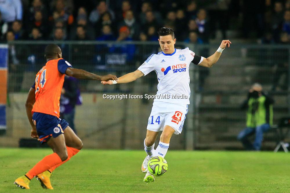 Florian THAUVIN - 09.01.2015 - Montpellier / Marseille - 20eme journee de Ligue 1<br />Photo : Nicolas Guyonnet / Icon Sport