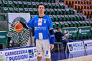 Giacomo Devecchi<br /> Banco di Sardegna Dinamo Sassari - Germani Basket Leonessa Brescia<br /> Legabasket Serie A LBA PosteMobile 2017/2018<br /> Sassari, 08/04/2018<br /> Foto L.Canu / Ciamillo-Castoria