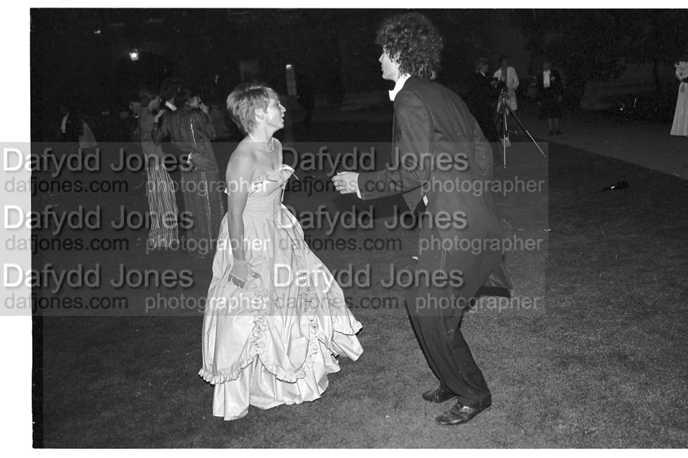 New College May Ball, Oxford. 14 June 1983.<br /> <br /> SUPPLIED FOR ONE-TIME USE ONLY> DO NOT ARCHIVE. © Copyright Photograph by Dafydd Jones 248 Clapham Rd.  London SW90PZ Tel 020 7820 0771 www.dafjones.com