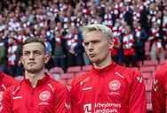 FOOTBALL: Jacob Bruun Larsen and Victor Nelsson (Denmark) during the EURO 2020 Qualifier match between Denmark and Georgia at Parken Stadium on June 10, 2019 in Copenhagen, Denmark. Photo by: Claus Birch / ClausBirchDK.