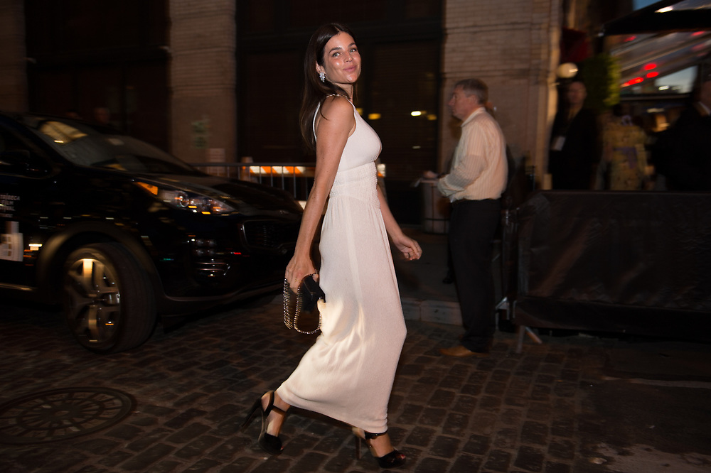 Julia Restoin Roitfeld at the Chanel Tribeca Film Festival Dinner 2018