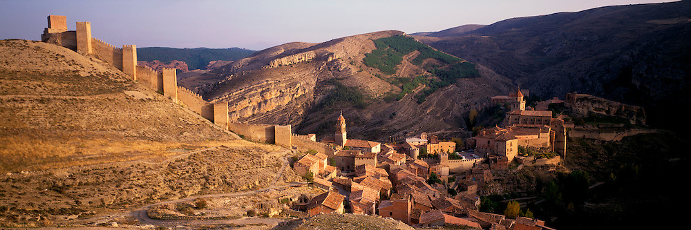 SPAIN, ARAGON Albarracin village near Teruel