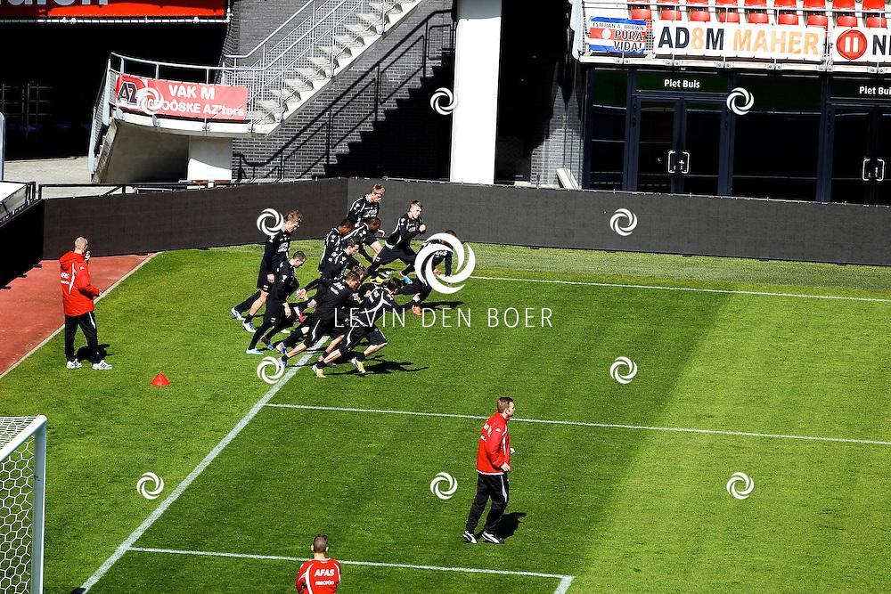 ALKMAAR - In het AZ Stadion is de NNP dag 2013 gehouden. Met op de foto