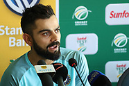 Cricket - India Press Conference in Cape Town 2017