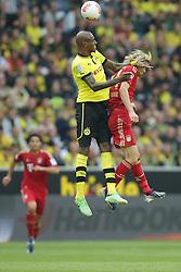 04.05.2013, Signal Iduna Park, Dortmund, GER, 1. FBL, Borussia Dortmund vs FC Bayern Muenchen, 32. Runde, im Bild, duell Felipe SANTANA (Borussia Dortmund - BVB - 27) - Anatoliy TYMOSHCHUK (FC Bayern Muenchen - 44) // during the German Bundesliga 32th round match between Borussia Dortmund and FC Bayern Munich at the Signal Iduna Park, Dortmund, Germany on 2013/05/04. EXPA Pictures © 2013, PhotoCredit: EXPA/ Eibner/ Gerry Schmit..***** ATTENTION - OUT OF GER *****
