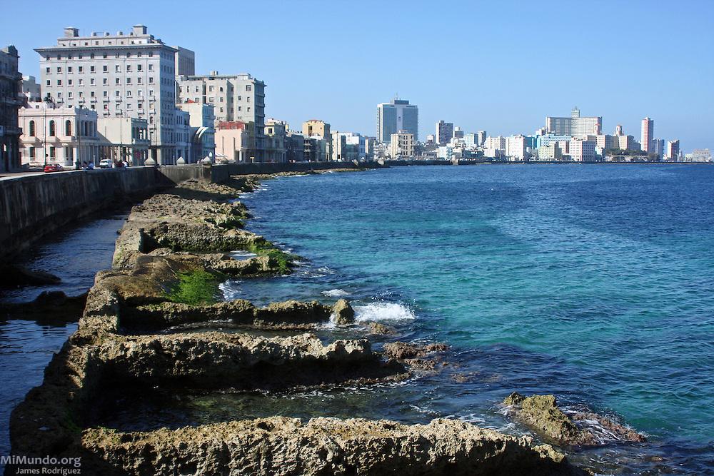 El Malecón. Centro Habana, 2009.