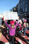San Francisco Women's March 2018