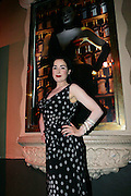 Burlesque Diva Dita Von Teese in association with Cointreau held a star studded event in which she performed her famed Martini Glass act along with a never before seen Opium Den act at the Avalon in Hollywood California, Wednesday July 22, 2009. Photo by Peter Switzer