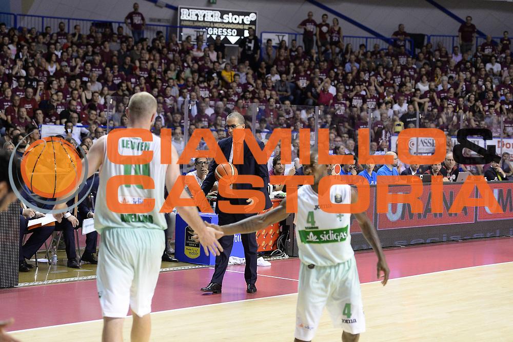 De Raffaele Walter<br /> Umana Reyer Venezia - Sidigas Avellino<br /> Lega Basket Serie A 2016/2017<br /> Palyoff Semifinale Gara 1<br /> Venezia 26/05/2017<br /> Foto Ciamillo-Castoria