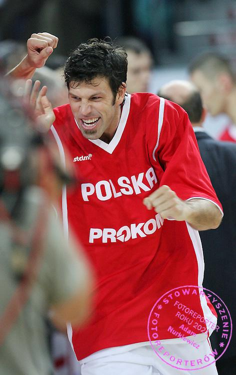 WLOCLAWEK 03/09/2006 ..POLAND _ BULGARIA Euro 2007 qualifier . ..KOSZYKOWKA ELIMINACJE MISTRZOSTW EUROPY POLSKA v BULGARIA ..NA ZDJ.  JEFF NORDGAARD /POL/.. FOT. PIOTR HAWALEJ / WROFOTO ....