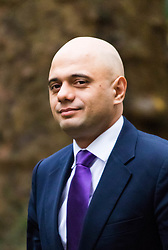 Downing Street, London, November 24th 2015. Secretary of State for Business, Innovation and Skills Sajid Javid arrives at Downing Street for the weekly cabinet meeting. ///FOR LICENCING CONTACT: paul@pauldaveycreative.co.uk TEL:+44 (0) 7966 016 296 or +44 (0) 20 8969 6875. ©2015 Paul R Davey. All rights reserved.