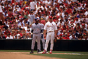 St. Louis Cardinal Baseball Mark McGwire Chicago Cubs Sammy Sosa