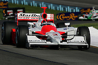 Helio Castroneves at Watkins Glen International, Watkins Glen Indy Grand Prix, September 25, 2005